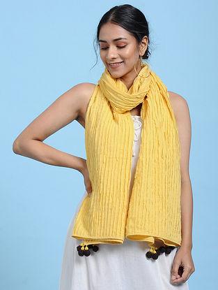 Mustard Cotton Scarf
