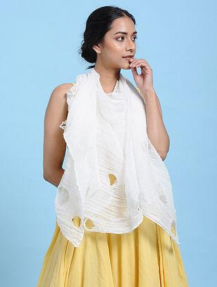 Ivory Cotton Scarf