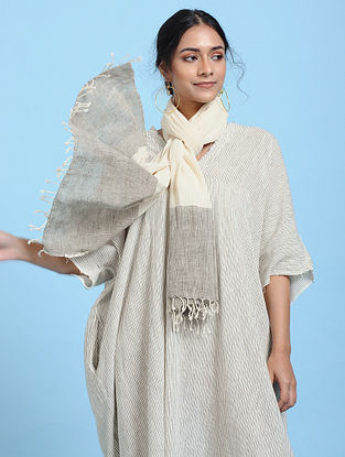 Ivory Cotton Scarf