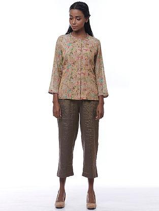 Multicolored Tissue-Cotton Grace Jacket