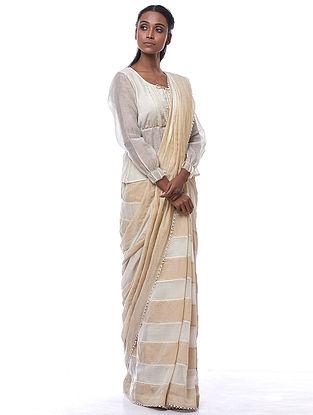 Natural Silk-Cotton Kiera Blouse