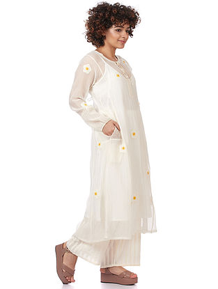 Natural Silk-Cotton Kurta
