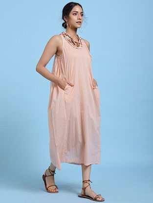 Melon Cotton Dress