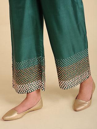 Huda Green Silk Pyjama
