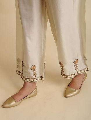 Sabiha Natural Silk Pyjama