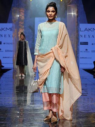 Lafiza Dull Haze Silk Cotton Kurta