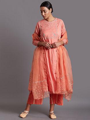 Sabira Pink Cotton Kurta
