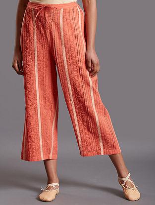 Raazia Dark Pink Cotton Pants