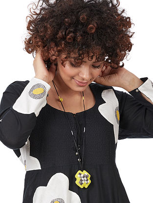 Yellow Voile Necklace