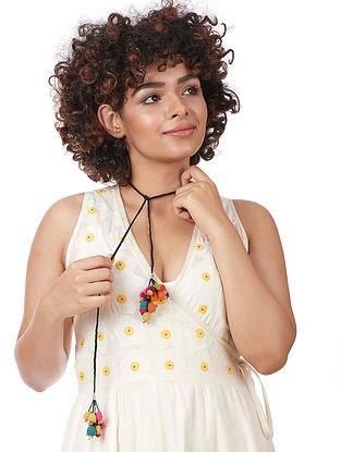 Multicolored Voile Necklace