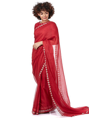 Red Silk Saree