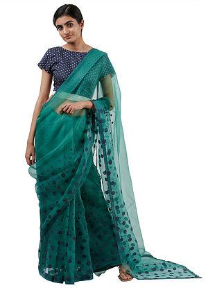 Green Handwoven Silk Saree