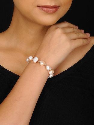 Baroque Pearl Silver Bracelet