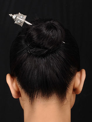 Tribal Silver Hair Accessory