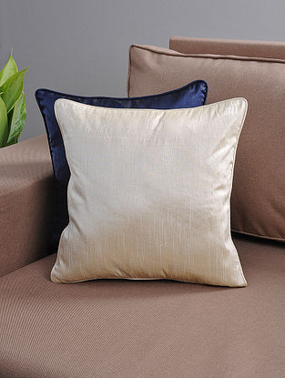 Ivory Cushion Cover with Cotton Lining