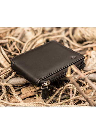Brown Handcrafted Genuine Leather Wallet