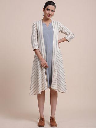 Ivory Layered Cotton Tunic