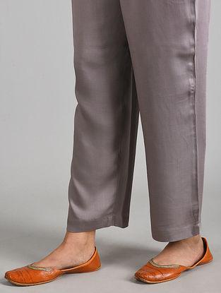 Mauve Essential Modal Satin Pants