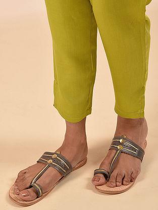 Mustard Elasticated Waist Modal Pant