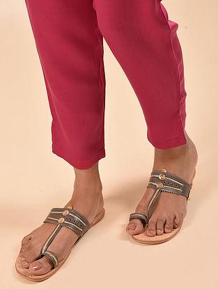 Pink Elasticated Waist Modal Pant