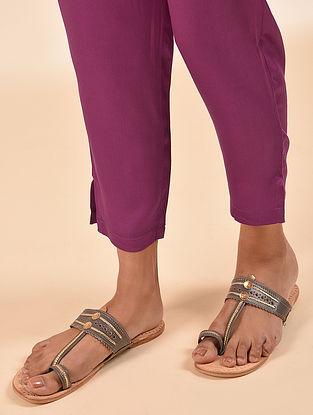 Fuchsia Elasticated Waist Modal Pant