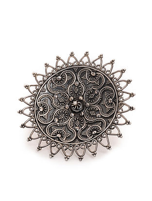 Tribal Silver Ring (Ring Size - 8)