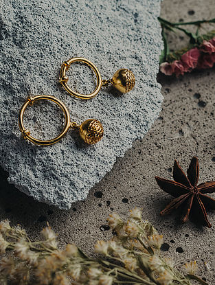 Gold Plated Handcrafted Brass Ring Set