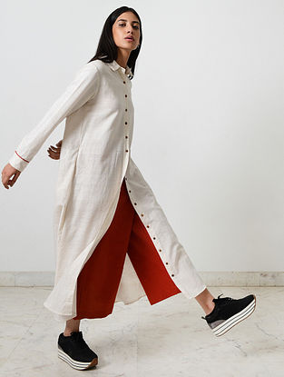 Kora Block Printed Khadi Dress