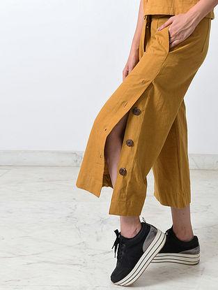Dirty Mustard Khadi Culottes