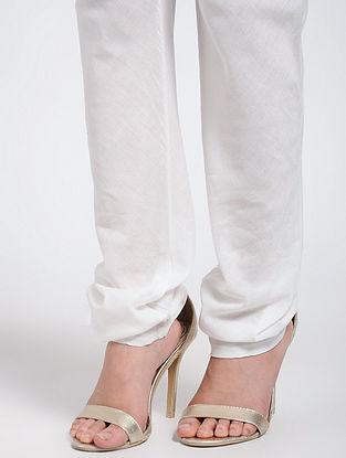 Ivory Cotton Churidar