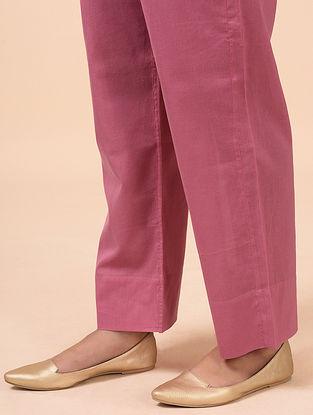 Pink Cotton Palazzo