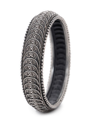 Tribal Silver Bangle (Bangle Size -2/2)