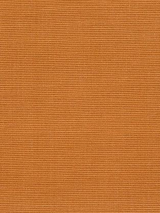 Ochre Cotton Bamboo Regular Solid Fabric