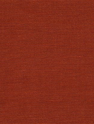 Rust Cotton Bamboo Regular Solid Fabric