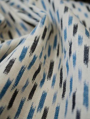 Blue Cotton Ikat Blink Fabric