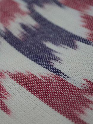 Purple Cotton Ikat Kaleidoscope Fabric