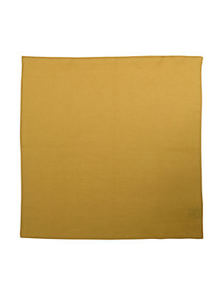 Mustard Yellow Linen Napkin - Set of 6