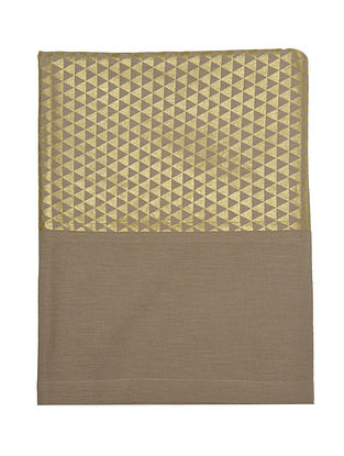 Geometric Foil Printed Table Cloth- 60in x 90in