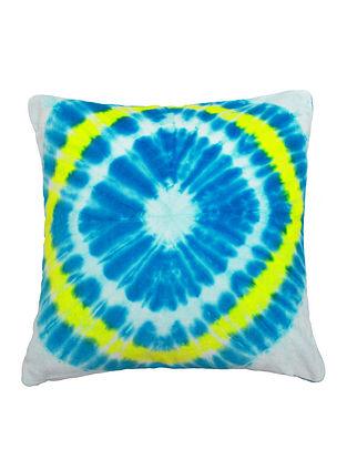 Tie & Dye Diamond Cushion Cover 16in X 16in by YAMINI