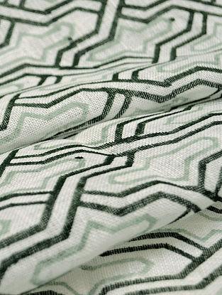 Smoky Linen Trellis Design Fabric by YAMINI
