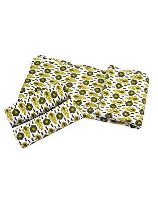 Ikat Pattern Bath Towel-1 & Face Towel-2