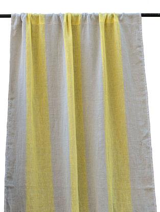 Wide Stripe Printed Curtain 86in x 46in