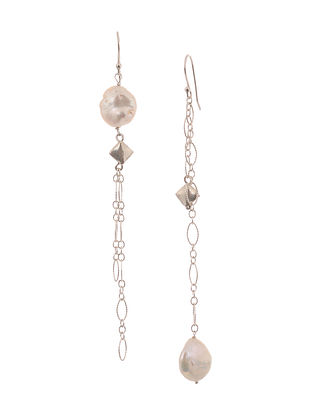 Fresh Water Pearl Silver Earrings