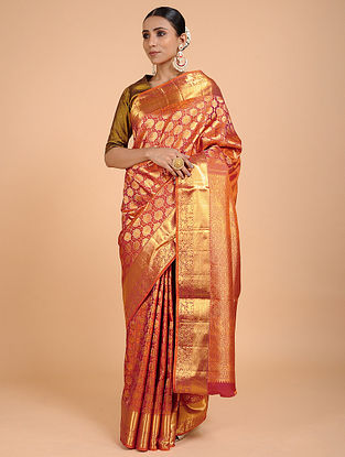Red Kanjivaram Silk Saree