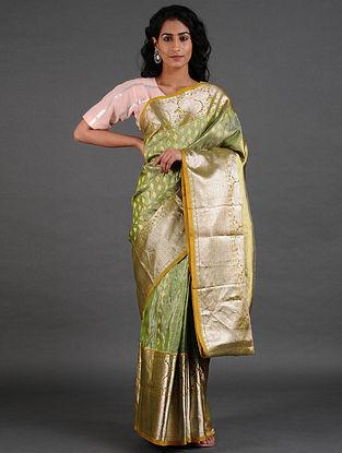 Green Venkatgiri Silk Saree