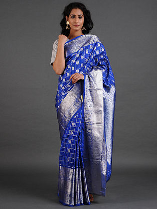 Royal Blue Venkatgiri Silk Saree
