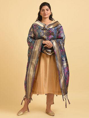 Multicolored Handwoven Benarasi Silk Dupatta