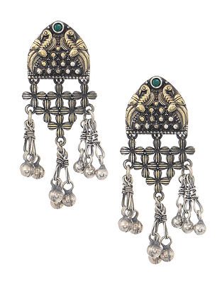 Classic Dual Tone Earrings with Ghungroo