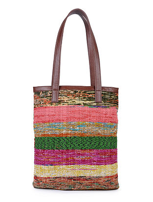 Multicolored Upcycled Tote