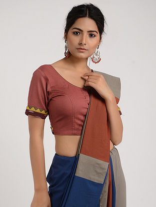 Maroon Cotton Blouse